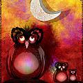 Three Owls by J Kinion