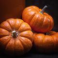 Three Pumpkins by Tom Mc Nemar