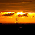 Three-tier Sunset by Vidhya Narayanan