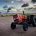Three Wheeled Tractor by Andy Linden