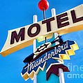 Thunderbird Motel Sign by Matt Suess