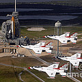 Thunderbirds Fly Past Endeavour by Nasa