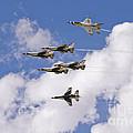 Thunderbirds Solos Break by Tim Mulina
