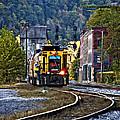 Thurmond Wv Train by Steve Harrington