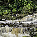 Thwaite Waterfall Yorkshire Dales Uk by George Hodlin