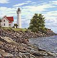 Tibbetts Point Lighthouse by Richard De Wolfe