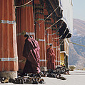 Tibetan Monks At Sera by First Star Art