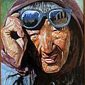 Tibetan Woman by John Lautermilch