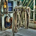 Tied Up Lines by Michael Thomas