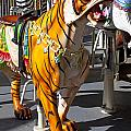 Tiger Carousel Ride by Garry Gay