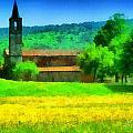 Tiglieto Abbazia Cistercense by Enrico Pelos
