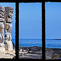 Tiki Triptych by Kelley King