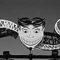 Tillie's Scream Zone In Black And White by Rob Hans