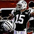 Tim Tebow  -  Ny Jets Quarterback by Paul Ward