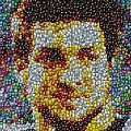Tim Tebow Mms Mosaic by Paul Van Scott