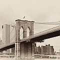 Timeless-brooklyn Bridge by Regina Geoghan