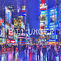 Times Square by Bill Unger