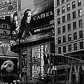 Times Square Black And White by Andrew Fare
