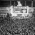 Times Square Election Crowds by Underwood Archives