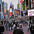 Times Square New York by David Dehner