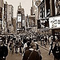 Times Square New York S by David Dehner
