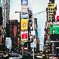 Times Square Nyc by Ann Marie Napoli
