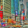 Times Square One by Alberta Brown Buller