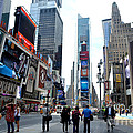 Times Square by Pravine Chester