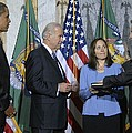 Timothy Geithner Sworn-in As Secretary by Everett