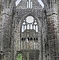 Tintern Abbey-wales by Geraldine Alexander