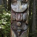 Tlingit Totem Pole, Sitka National by Matthias Breiter