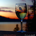 Toasting A Beautiful Evening by Patrick Witz