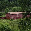 Tobacco Barn From Afar by Douglas Barnett