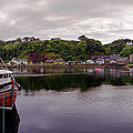 Tobermory Harbor by Jan W Faul