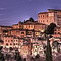 Todi At Sunset by Andrea Barbieri