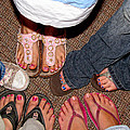 Toes In by Debbie Portwood