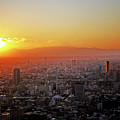 Tokyo Sunset by Hilary McHone