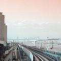 Tokyo Train Ride 3 by Naxart Studio