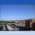 Toledo Walkway Spain by John Shiron