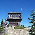 Tolmie Peak Lookout by Charles Robinson
