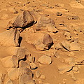 Toltecs, Volcanic Rocks, Mars by Nasa