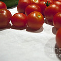 Tomato And Cucumber 1 by Alan Look