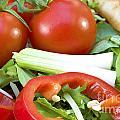 Tomato Salad Close Up by Simon Bratt Photography LRPS