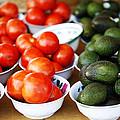 Tomato Y Avacado by Marilyn Hunt