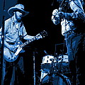 Tommy And Charlie Play Some Blues At Winterland In 1975 by Ben Upham