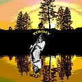 Amber Lake #3 by Ben Upham
