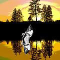 Amber Lake #4 by Ben Upham
