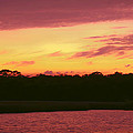 Tomoka River Sunset by DigiArt Diaries by Vicky B Fuller