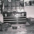 Tool Box And Clamp Work Area by Floyd Smith