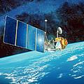 Topex/poseidon Satellite by David Ducros